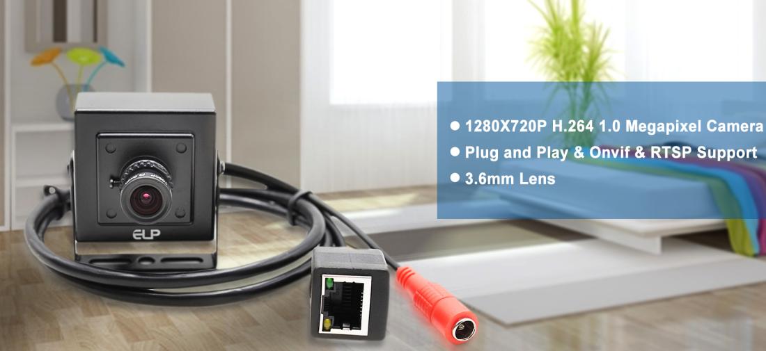ELP-IP1881 1280x720p 1 0 Megapixel Mini IP Camera,Mini