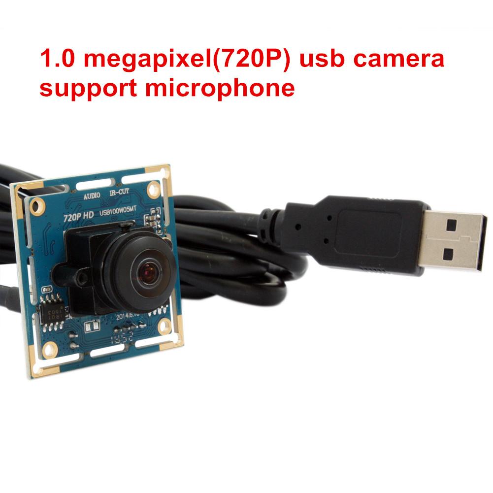 ELP 720P hd mini UVC usb webcam wide angle webcam Board M12