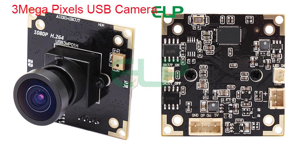 Supply Cctv Surveillance Camera H.264 Wdr 3mp 1080p Full Hd 30fps Usb Camera Module With Webcam Otg Uvc Wide Dynamic Microphone Video Surveillance