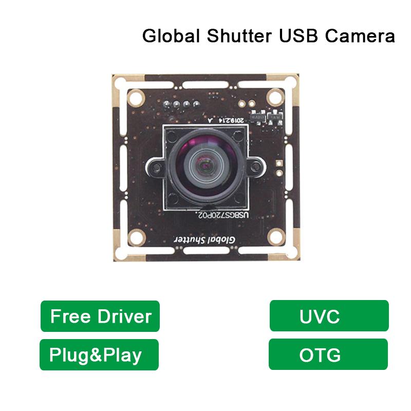 ELP Global Shutter USB Camera High Frame Rate 720P 60fps