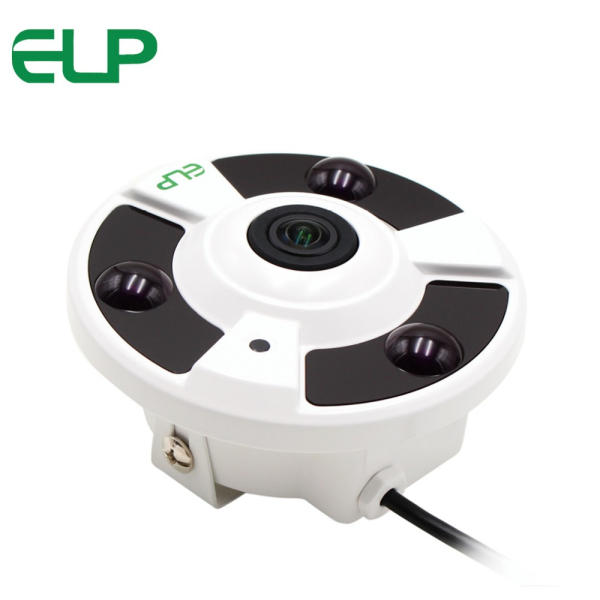 5MP Megapixel HD IP wide angle fisheye 360 degree panoramic day/Night Vision surveillance IP Camera for supermarket,home,hotel