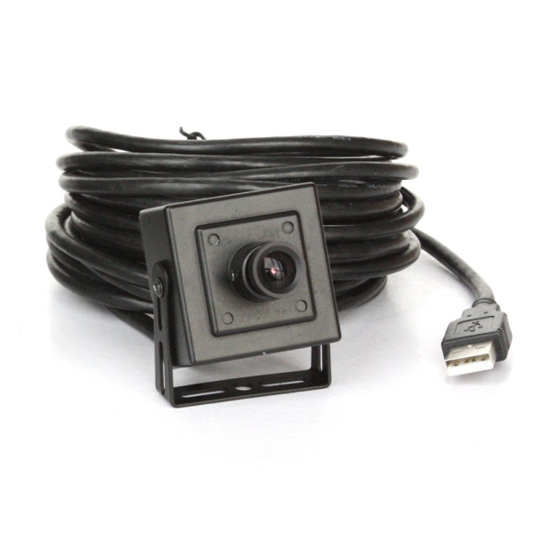 ELP mini box USB camera 5megapixel with 3.6mm lens for machine vision