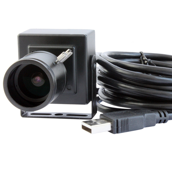 ELP 2.8-12mm Lens Varifocal Mini Box USB camera 1.3megapixel for Linux Android Windows System