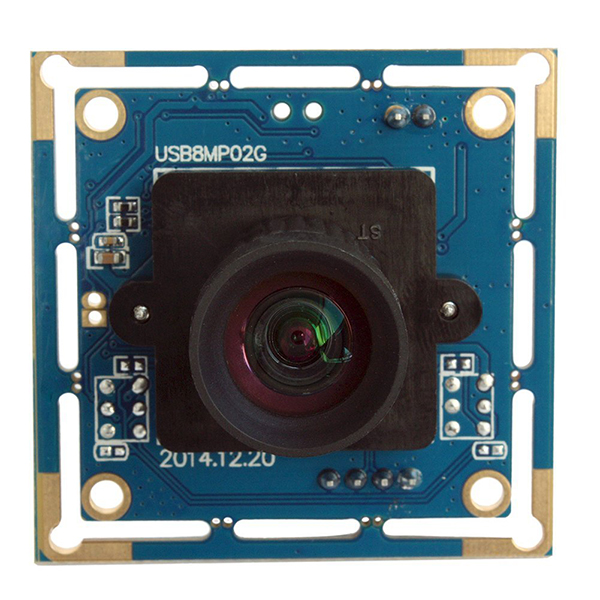ELP webcam Module 8 megapixel with 180 Fisheye lens for machine vision