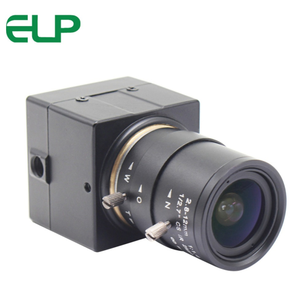 ELP low illumination Mini USB Camera HD with 2.8-12mm Varifocal lens