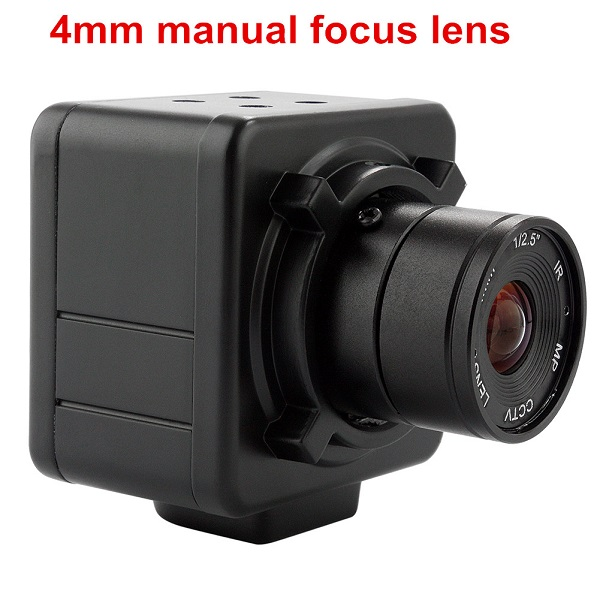 ELP 4mm manual focus Lens Aluminum Industrial Box Housing 960P Industrial Camera