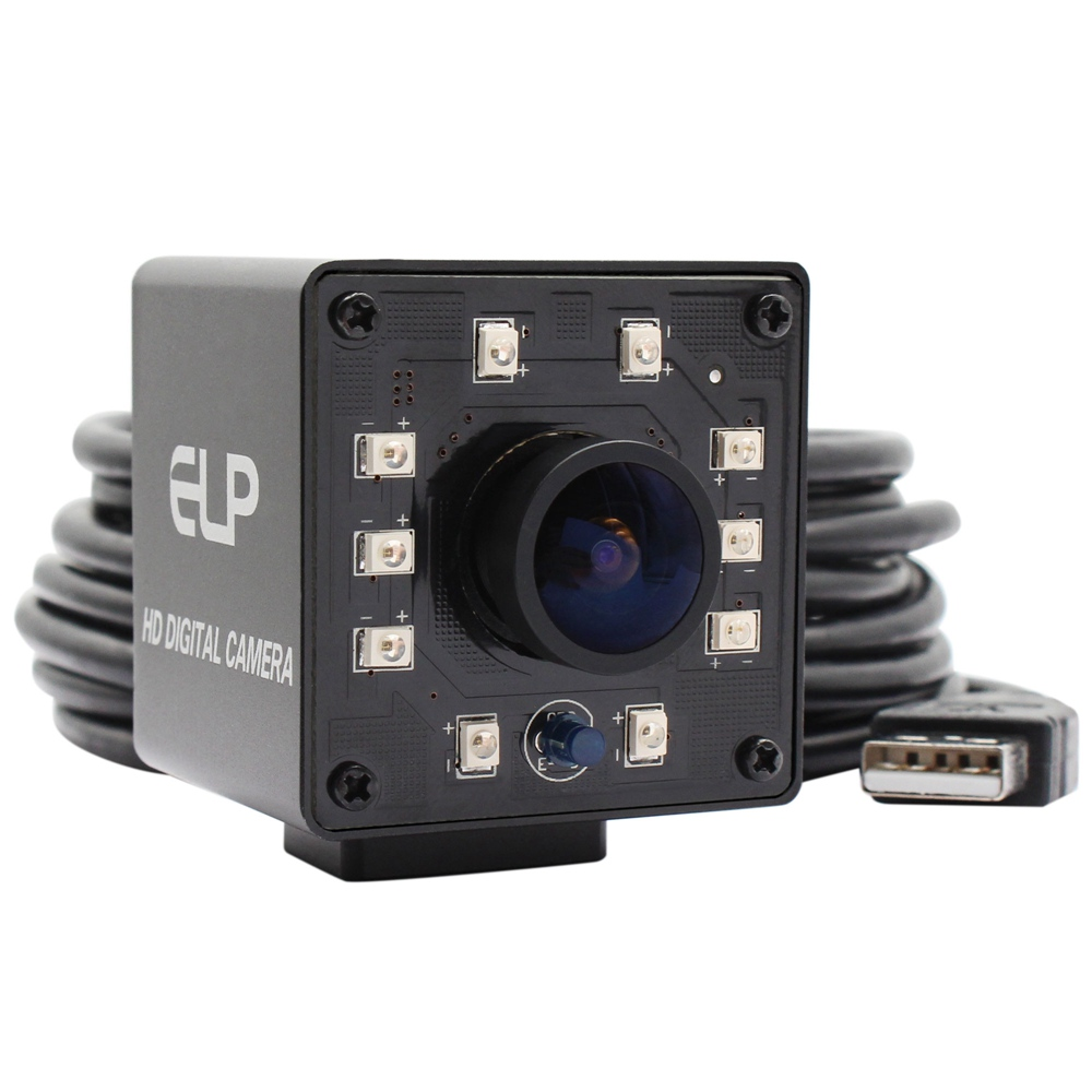 ELP 2Megapixel 1920*1080 IR Webcam 1/2.7 CMOS OV2710 MJPEG 30fps/60fps/120fps IR cut filter day and night usb camera