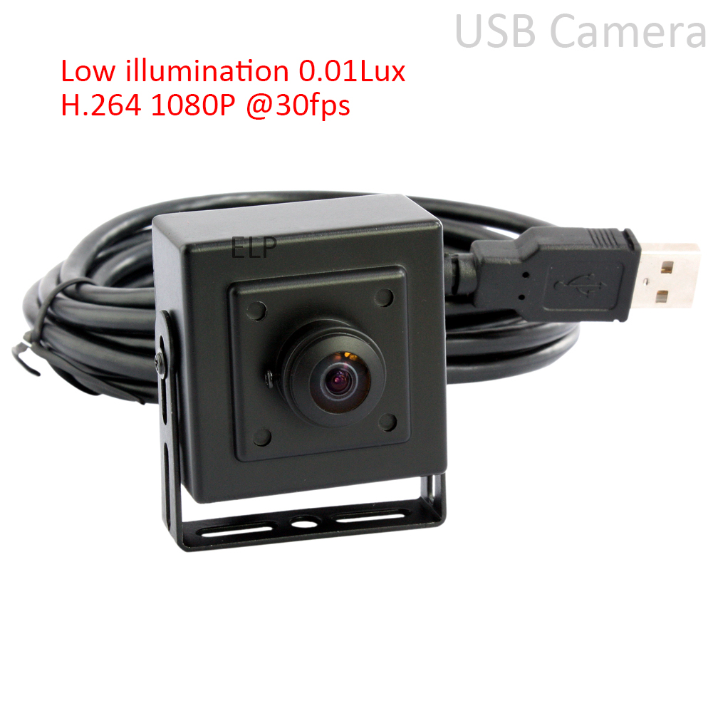 ELP 2MP 1080P CMOS Sony IMX322 USB board Camera Wide angle usb camera module with 180 degree fisheye lens