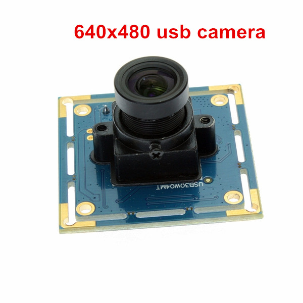ELP-USB30W04MT-L36 VGA 640*480 Color Image CMOS OV7725 Sensor USB Camera With 3.6mm lens