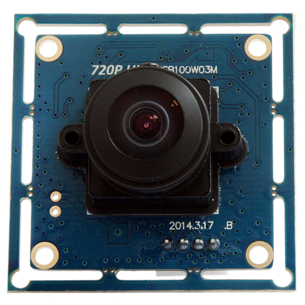 ELP Usb with Camera 170degree Wide Angle View Fishey 1.0 Megapixel Hd Usb Camera Module Used on Pc Os As Webcam for House Security or Atm/ncr/robot/kiosk Etc.