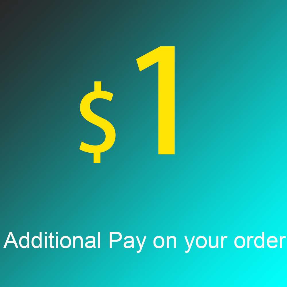 Additional Pay on Your Order, Shipping Cost Fee, Price Difference