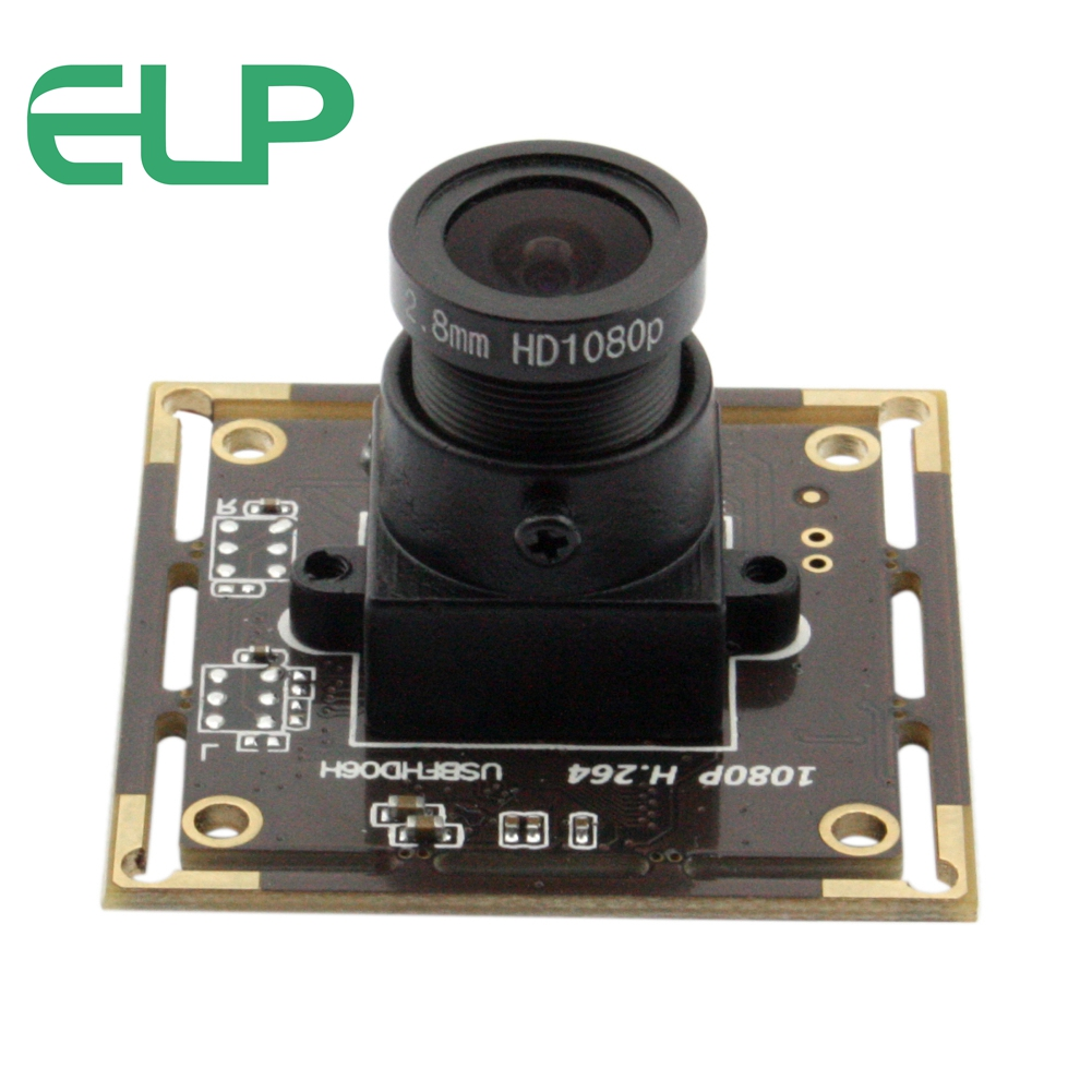 ELP 2mp Sony IMX322 Low illumination usb camera with 2.8mm lens