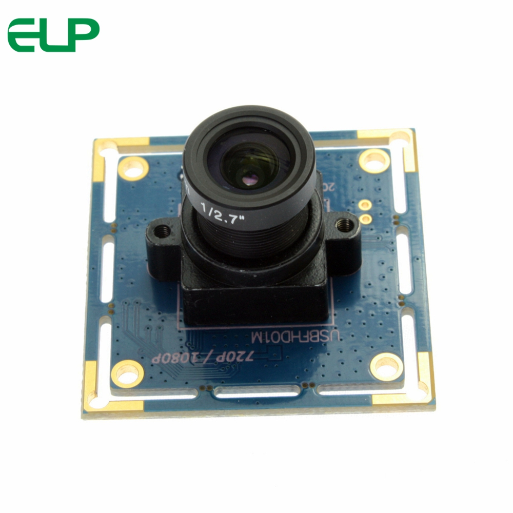 ELP USB2.0 Webcam 2Mpixels HD CMOS OV2710 VGA 120fps, 720P 60fps, 1080P 30fps Camera Module