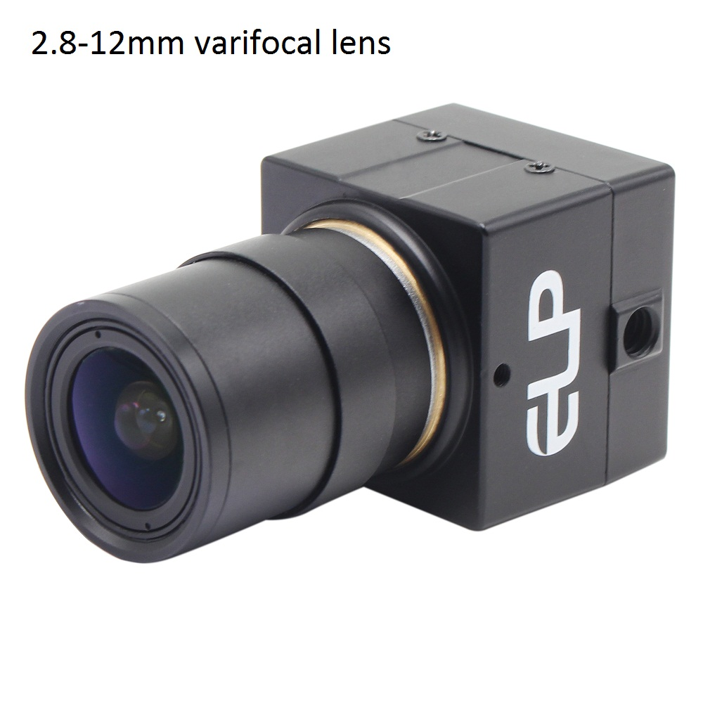 ELP USB webcam 1920*1080P Low light Camera with 2.8-12mm
