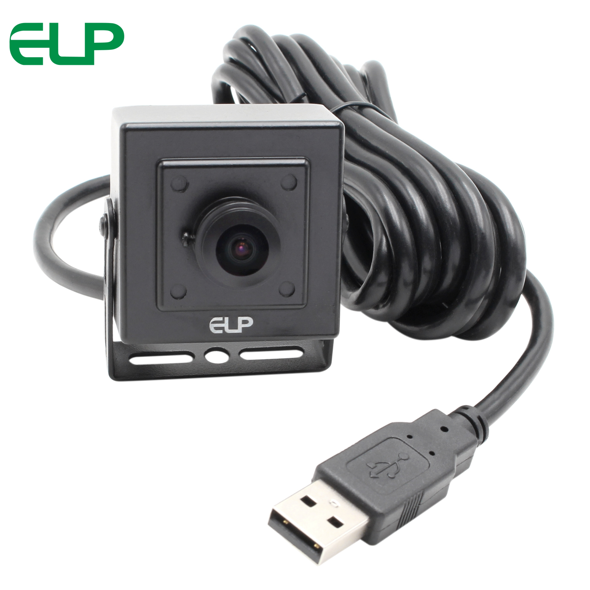 ELP 5mp 2592x1944 High resolution mini HD Webcam Driverless wide angle fisheye lens CCTV usb camera for Android,Linux,Windows