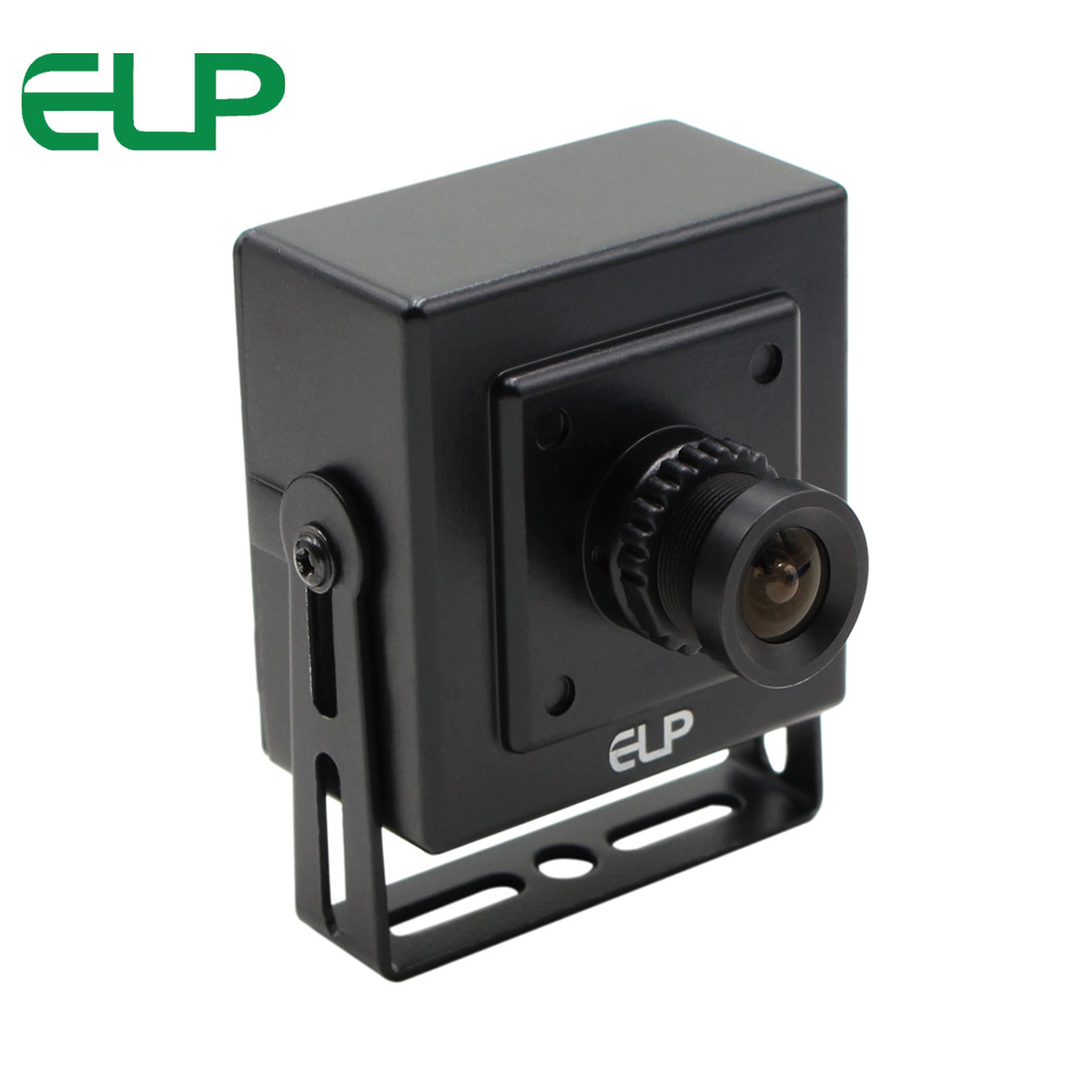 ELP Sony IMX179 8MP Surveillance USB Camera Undistortion Lens High Definition Webcam For Industrial Machine