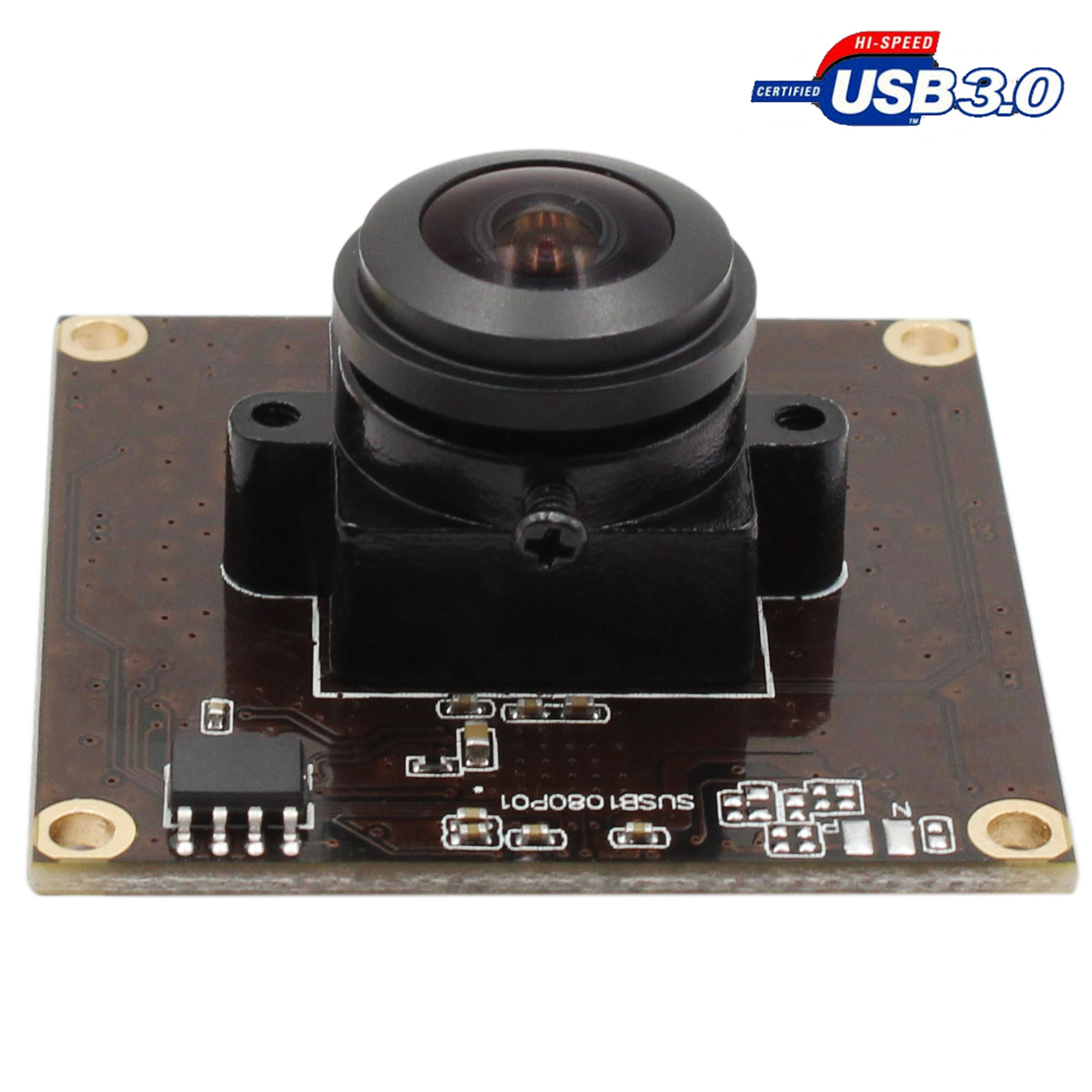 ELP Fisheye Wide View Angle 180degree 2MP Full HD 1080P 50fps USB 3.0 Camera Module Sony IMX29 UVC Plug Play Driverless OTG Webcam
