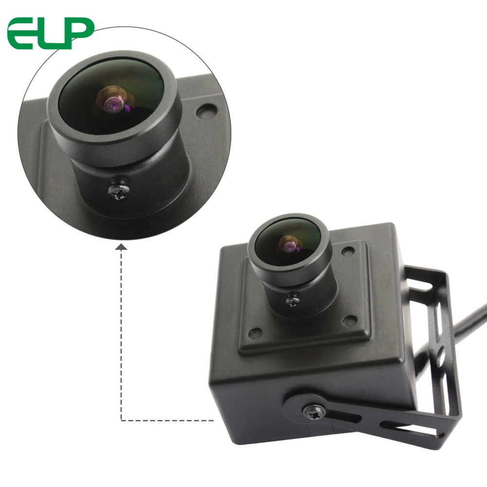 ELP 2Mpixles 1080P H.264 Camera Module Wide Angle 170degree lens industrial USB 2.0 webcam with MSony IMX322 sensor