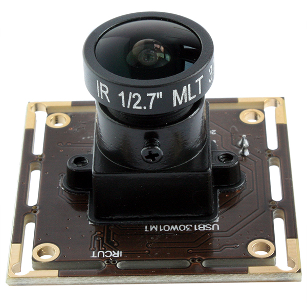 ELP-USB130W01MT-L170 Low illumination 1.3mp AR0130 CMOS HD USB Camera Module With Wide angle lens 170degree
