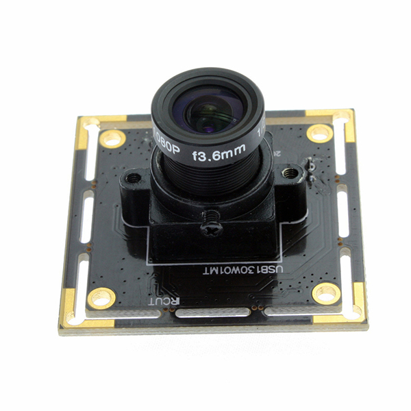 ELP 1.3 Megapixel Low Illumination CMOS AR0130 Sensor Usb 2.0 Camera with 3.6mm lens Support Ir Cut